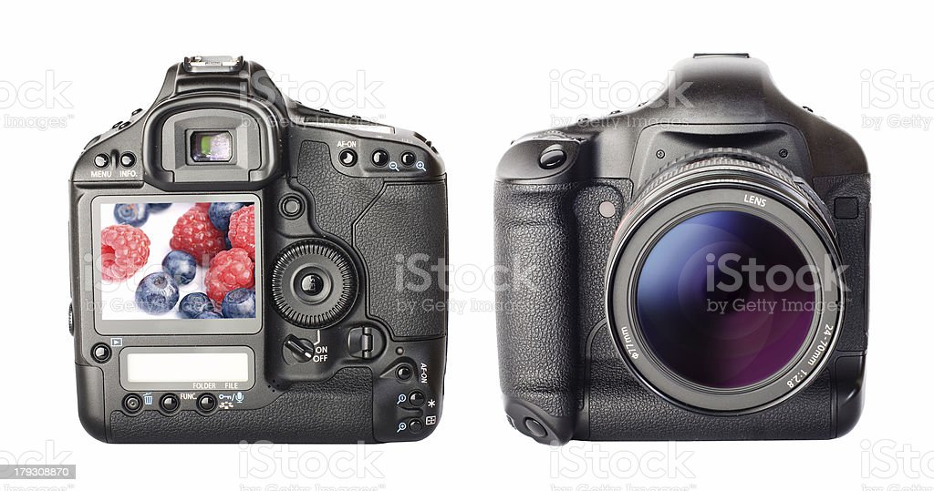 Digital photo camera royalty-free stock photo