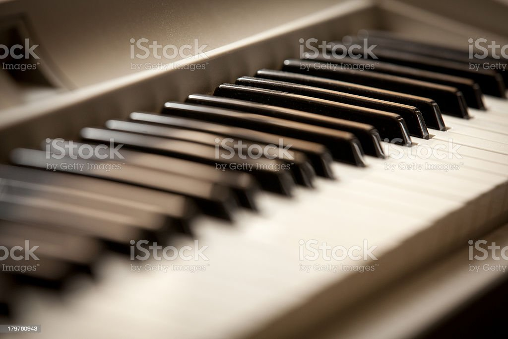 Digital Piano royalty-free stock photo