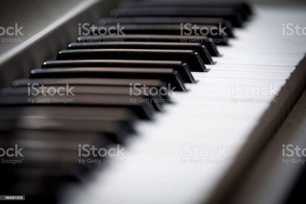 Digital Piano royalty-free stock photo