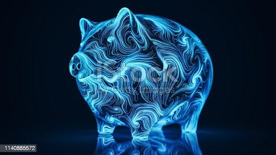 istock Digital Piggy Bank 1140885572