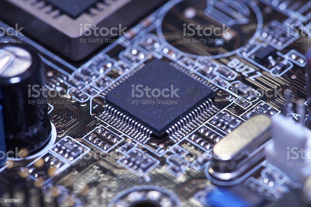digital processor royalty-free stock photo