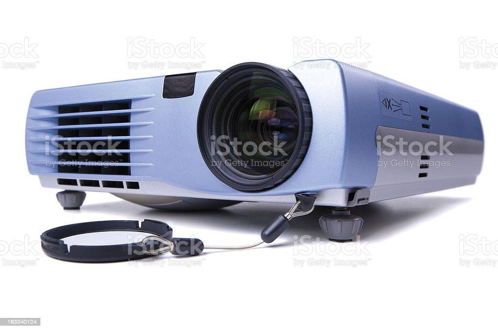 Digital Projector stock photo