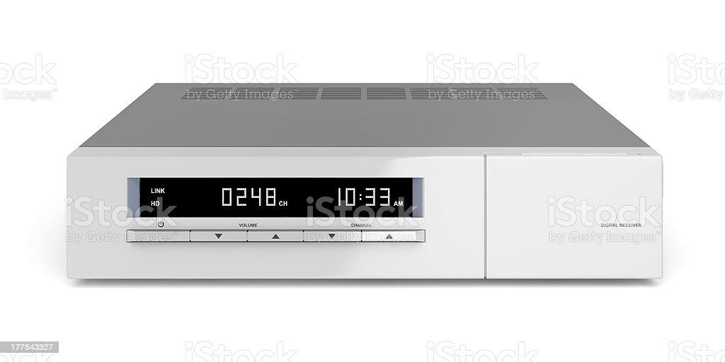 Digital receiver royalty-free stock photo