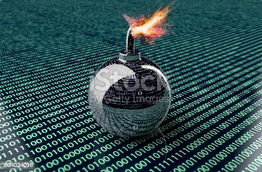 istock digital safety concept computer bomb in electronic environment, 534034016