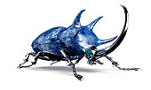 digital safety concept electronic computer bug isolated, 3D illustration