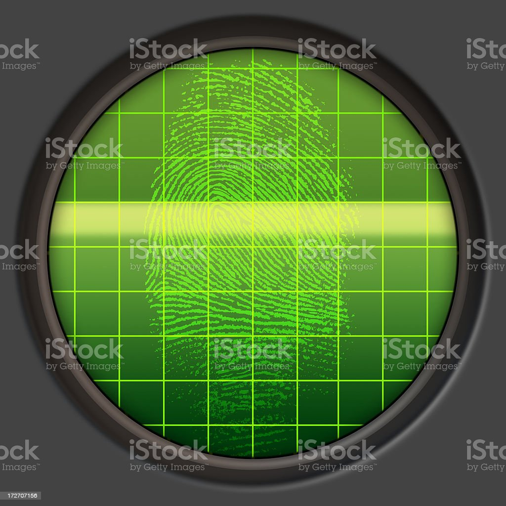 Digital Scanner royalty-free stock photo