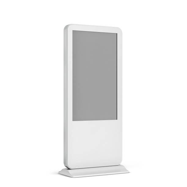 digitaler bildschirm display-ständer - flüssigkristallanzeige stock-fotos und bilder