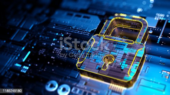 873055760 istock photo Digital security concept 1185245180
