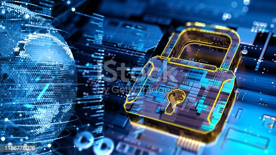 873055760 istock photo Digital security concept 1186776026