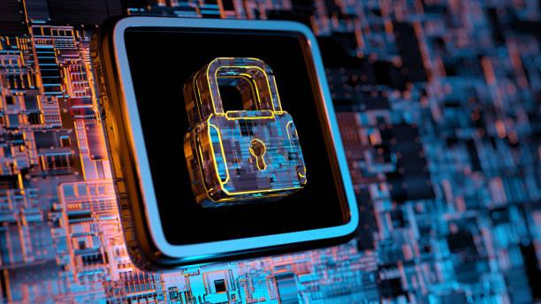 concepto de seguridad digital - seguridad fotografías e imágenes de stock