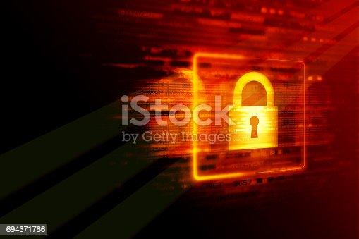 istock Digital security concept 694371786