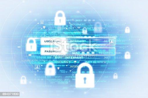 istock Digital security concept 694371830
