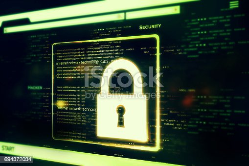 istock Digital security concept 694372034