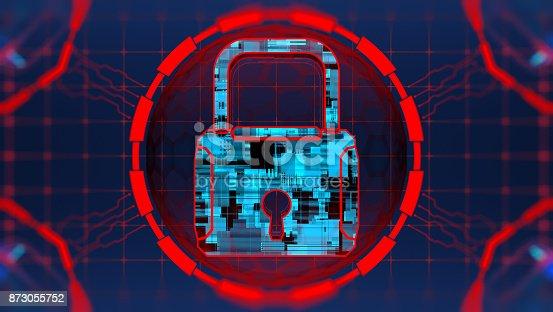 istock Digital security concept 873055752