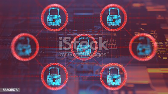 873055760 istock photo Digital security concept 873055762