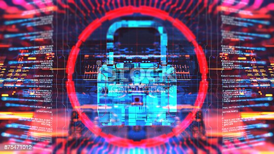 873055760 istock photo Digital security concept 875471012