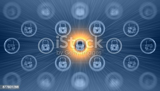 istock Digital security concept 877601288