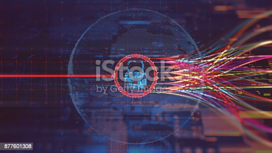 873055760 istock photo Digital security concept 877601308