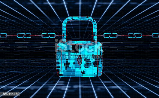 istock Digital security concept 880444152