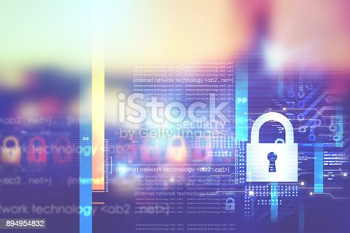 istock Digital security concept 894954832