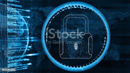 istock Digital security concept 903092994