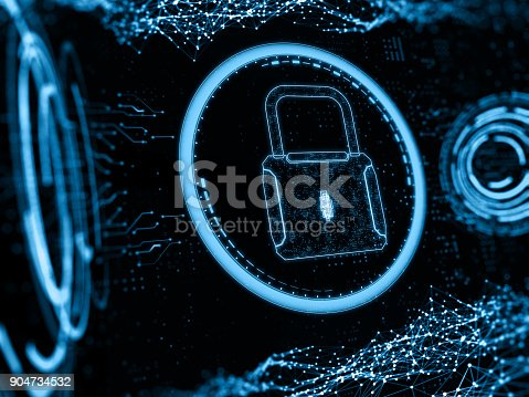 873055760 istock photo Digital security concept 904734532