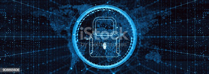 873055760 istock photo Digital security concept 908865606