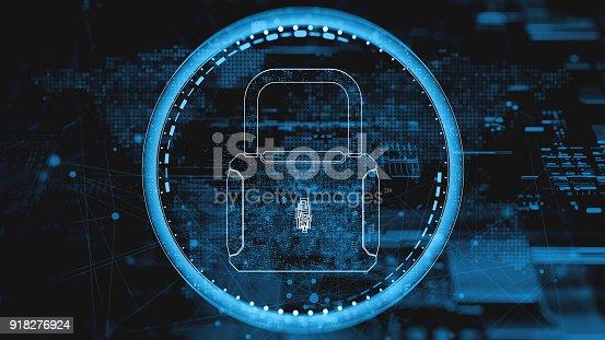istock Digital security concept 918276924