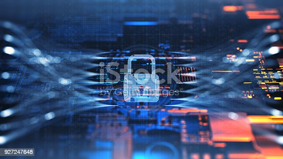 873055760 istock photo Digital security concept 927247648