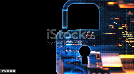 873055760 istock photo Digital security concept 943566636