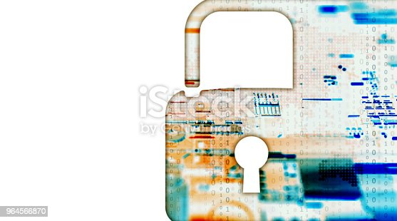 873055760 istock photo Digital security concept 964566870