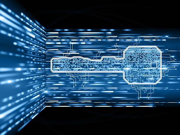 Digital Sicherheitsschlüssel – Foto