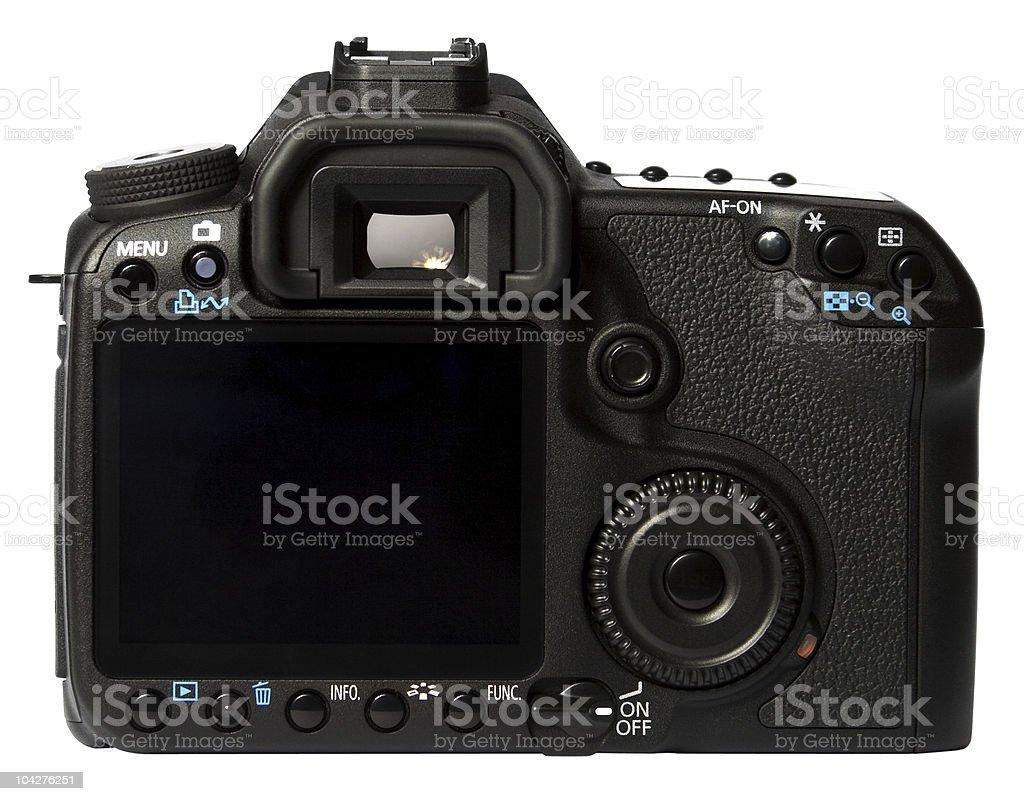 Digital SLR Camera Back stock photo