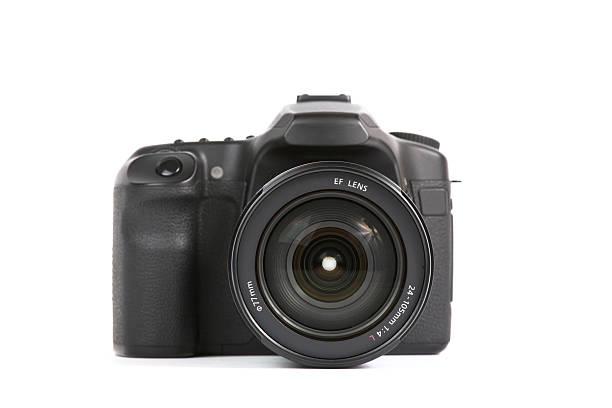 digital slr camera - spiegelreflexcamera stockfoto's en -beelden