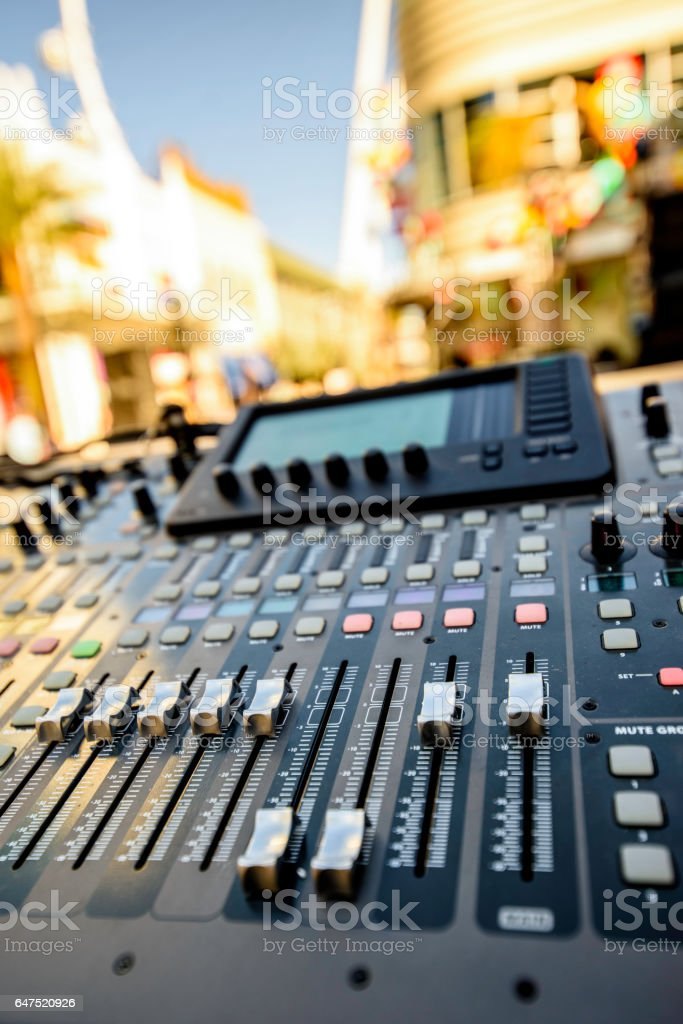 Digital Live Mixing Sound Console