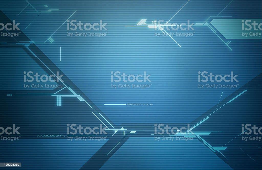 Digital Space Grid stock photo