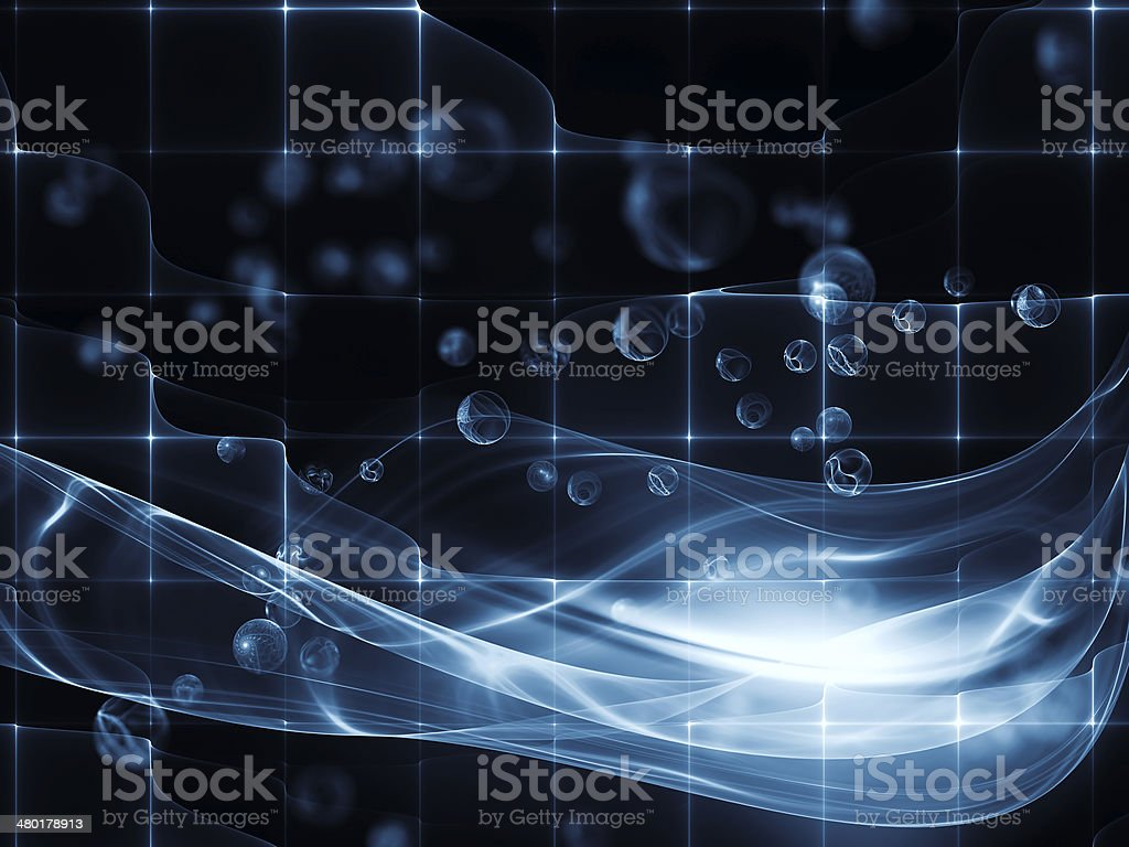 Digital Space royalty-free stock photo