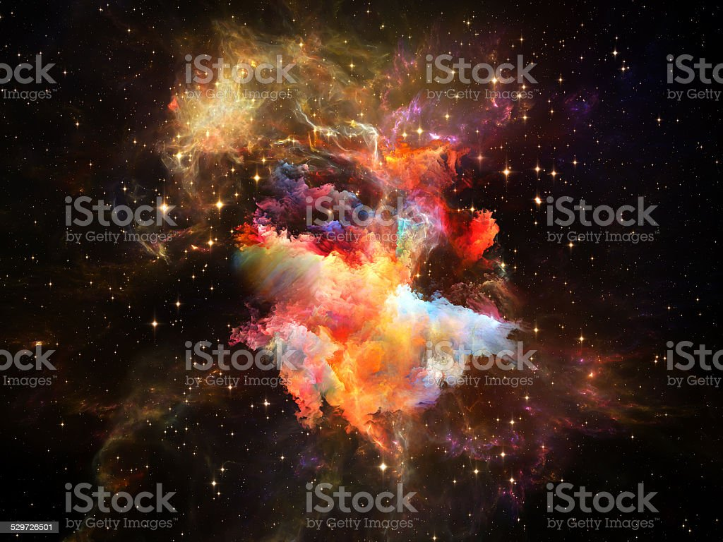 Digital Space stock photo