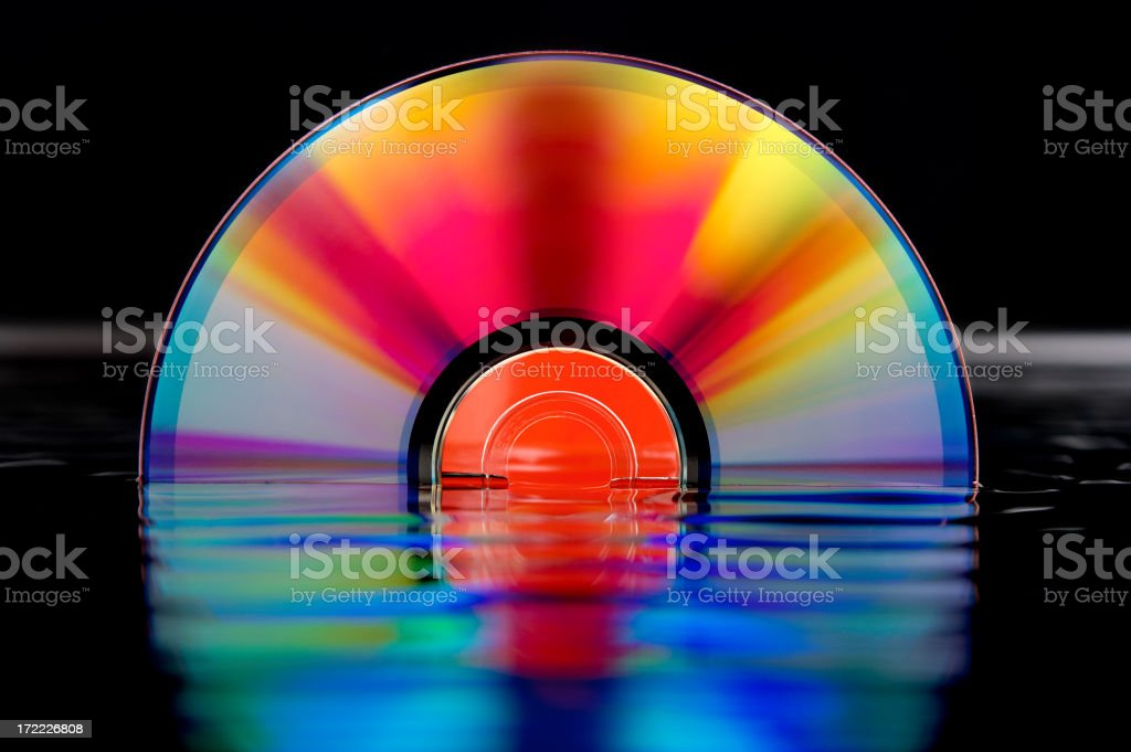 Digital Sunrise royalty-free stock photo