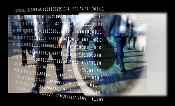 Digitale Überwachung. – Foto