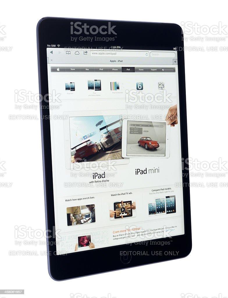 Digital Tablet - Apple iPad mini royalty-free stock photo