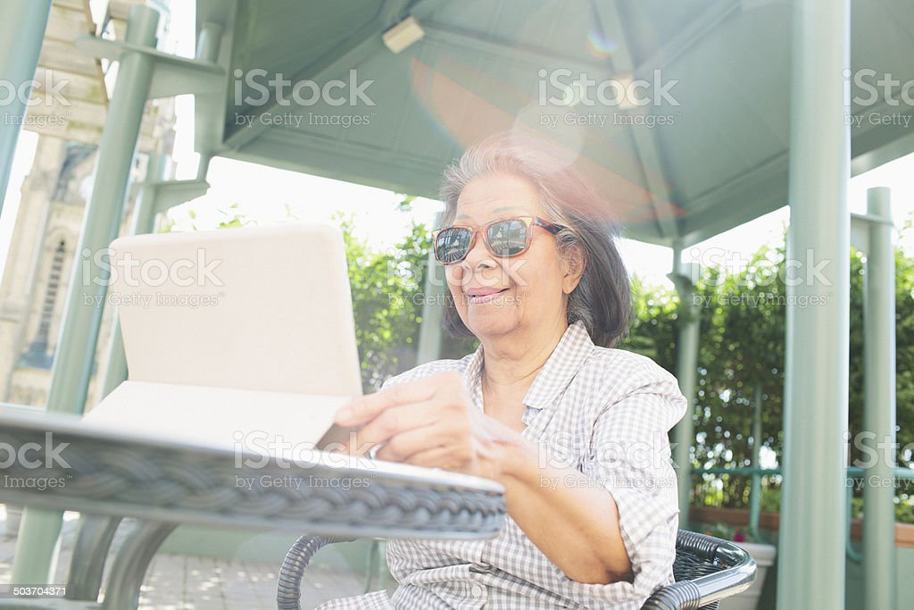 Digital Tablet Computer royalty-free stock photo