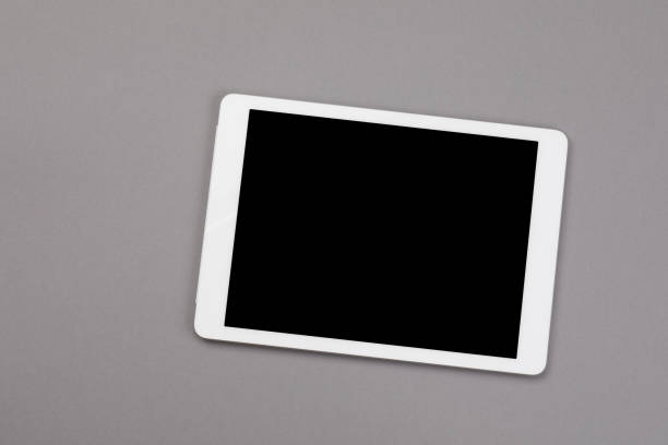 Digital Tablet - Isolated stock photo