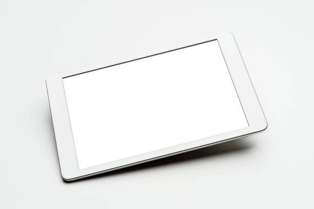 Digital tablet mockup, template stock photo