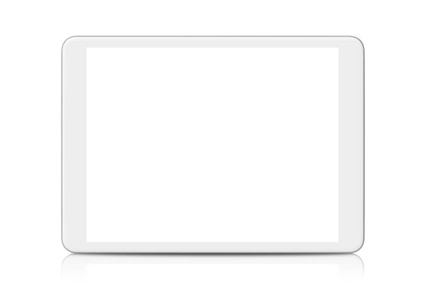 Digital Tablet White Digital Tablet isolated on white ipad stock pictures, royalty-free photos & images