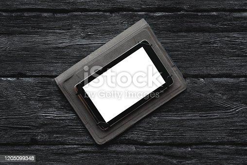 1161116588istockphoto Digital tablet. 1205099348