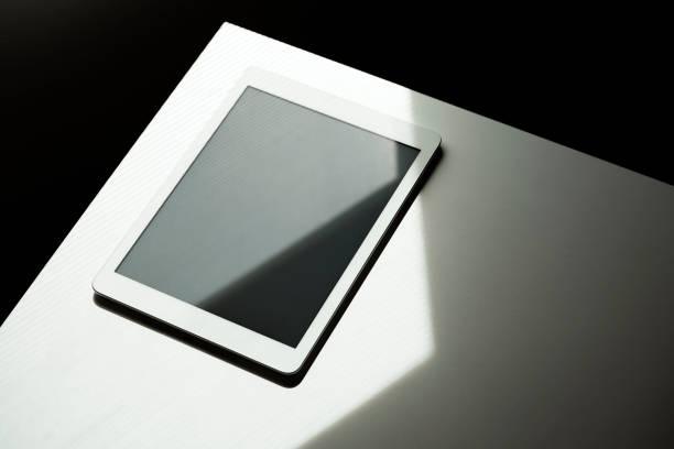 Digital tablet screen mockup, template stock photo