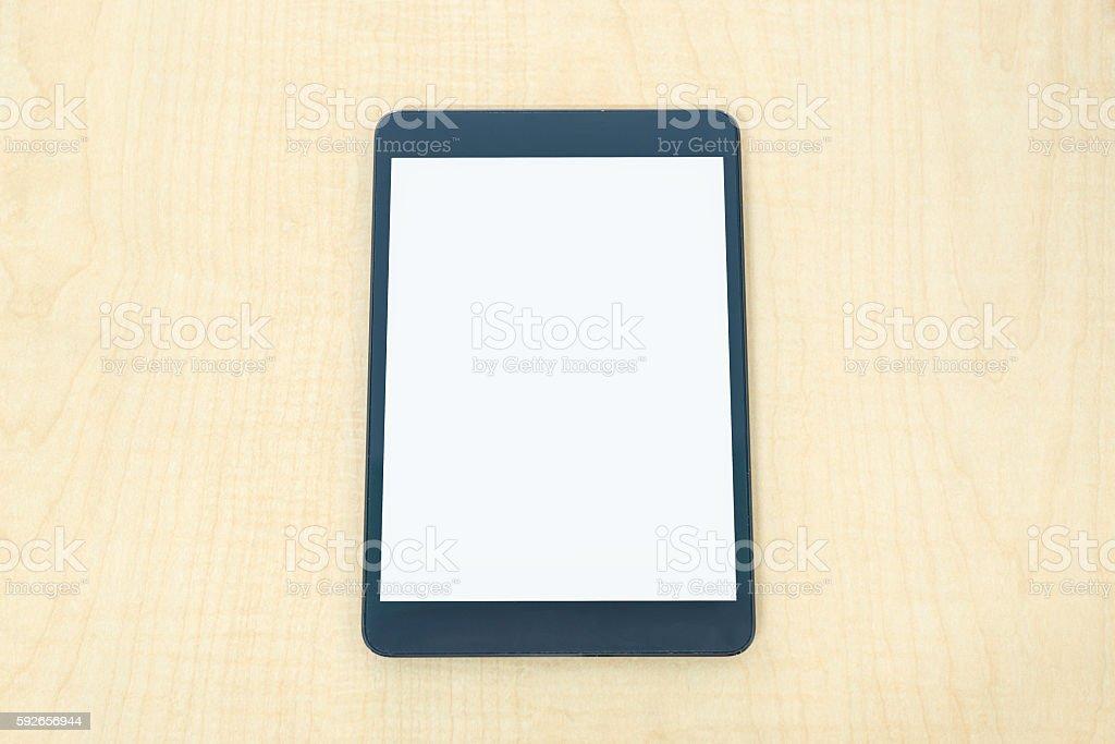 Digital tablet similar to ipade stock photo