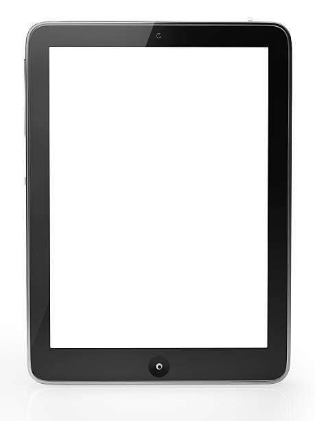 Digitale tablet mit Schneidepfaden – Foto