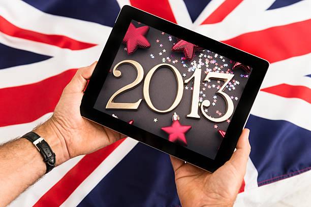 Digital tablet with the 2013 picture against uk flag picture id163729373?b=1&k=6&m=163729373&s=612x612&w=0&h=sxncq05giwotrkaj6nborbuar0svzmuqtcgna1a9vxy=